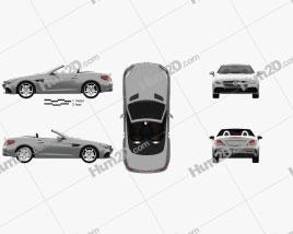 Mercedes-Benz SLC-Class 2017 car clipart