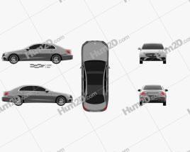 Mercedes-Benz E-class (W213) AMG Line 2016 car clipart