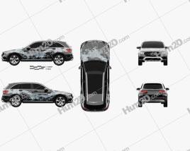 Mercedes-Benz GLC-Class (X205) F-Cell 2016