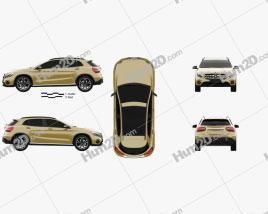 Mercedes-Benz GLA-Class (X156) 2017