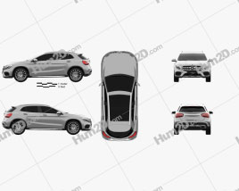 Mercedes-Benz GLA-Class (X156) AMG Line 2017