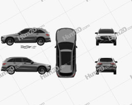 Mercedes-Benz GLC-Class (X205) S AMG 2017