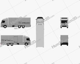 Mercedes-Benz Urban eTruck 2016 clipart