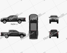 Mercedes-Benz X-Class Pure 2017 car clipart