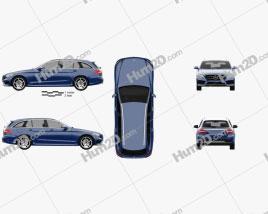 Mercedes-Benz C-Class (S205) estate AMG line 2014