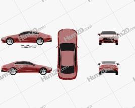 Mercedes-Benz CLS-class (C257) 2018 car clipart