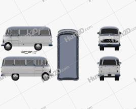 Mercedes-Benz O-319 Minibus 1955
