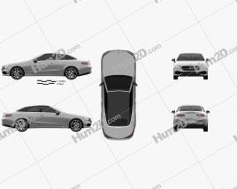 Mercedes-Benz E-class (A238) cabriolet 2016