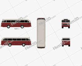 Mercedes-Benz O-321 H Bus 1954