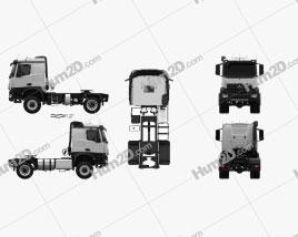 Mercedes-Benz Arocs Tractor Truck 2-axle 2013