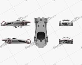 Mercedes-Benz Silver Arrow 2016