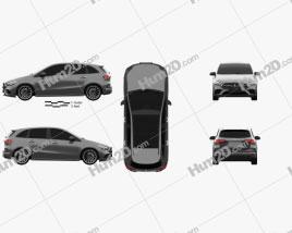 Mercedes-Benz B-Class (W247) AMG Line 2019