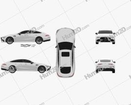 Mercedes-Benz AMG GT53 4-door coupe 2019
