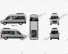 Mercedes-Benz Sprinter (W907) Passenger Van L2H2 2019