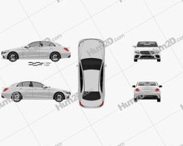 Mercedes-Benz C-Class AMG-line sedan 2018