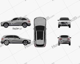 Mercedes-Benz GLC-class F-Cell 2019 car clipart