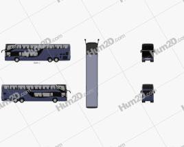 Mercedes-Benz MCV 800 Double-Decker Bus 2019