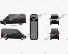 Mercedes-Benz Sprinter Panel Van L2H2 2019