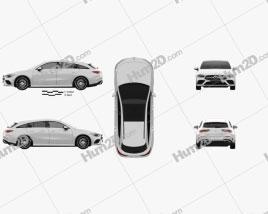 Mercedes-Benz CLA-class Shooting Brake AMG-Line 2019