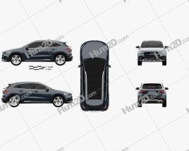 Mercedes-Benz GLA-class Progressive Line Edition 1 2020