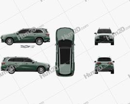 Mercedes-Benz GLS-class AMG US-spec 2021