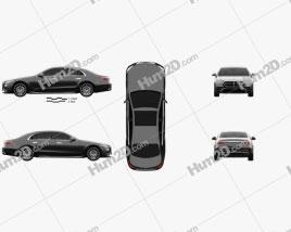 Mercedes-Benz S-Class e LWB AMG-Line 2021