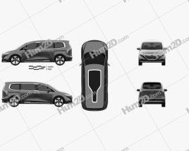 Mercedes-Benz EQT 2021 clipart