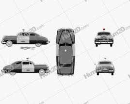 Mercury Eight Coupe Police 1949