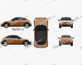 Mini Cooper roadster 2013 car clipart