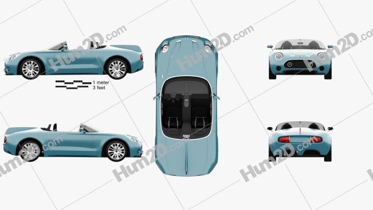 Mini Superleggera Vision 2014 Clipart Image