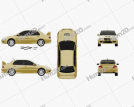 Mitsubishi Lancer Evolution 2001
