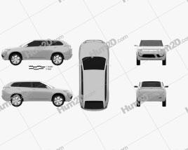 Mitsubishi PX-MiEV 2009 car clipart