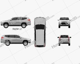 Mitsubishi Pajero Sport (TH) 2016 car clipart