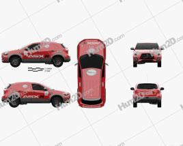 Mitsubishi ASX R 2015 car clipart