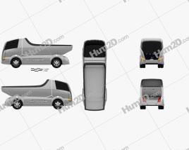 Mitsubishi Fuso Canter Eco D Hybrid Truck 2007