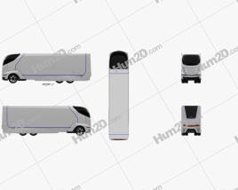 Mitsubishi Fuso Concept II Truck 2012