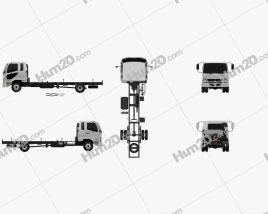 Mitsubishi Fuso Heavy Chassis Truck 2017
