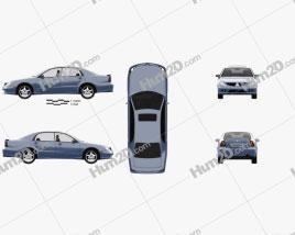 Mitsubishi Magna VR-X 2004 car clipart