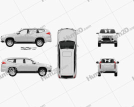 Mitsubishi Pajero Sport with HQ interior 2016