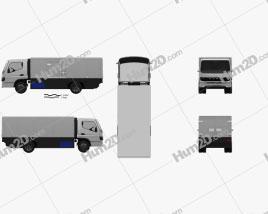 Mitsubishi Fuso Vision F-Cell Truck 2019