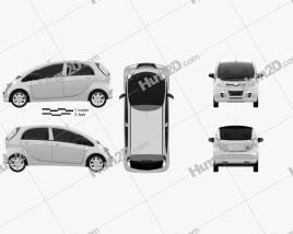Mitsuoka Like 2010 car clipart