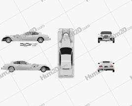 Mitsuoka Le-Seyde coupe 1993 car clipart