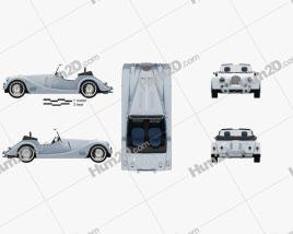 Morgan Plus Six 2020 Clipart