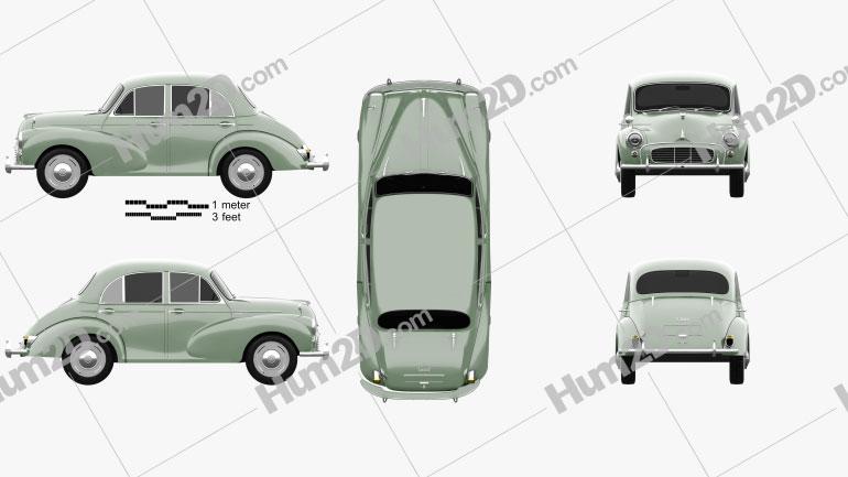 Morris Minor 1000 Saloon 1962
