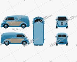 Morris JE Van 2019 clipart
