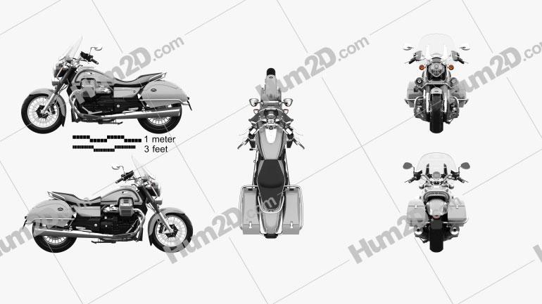 Moto Guzzi California 1400 Touring 2015 Moto clipart