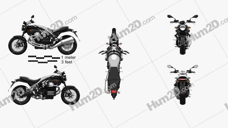 Moto Guzzi Griso 8V SE 2015 Motorcycle clipart