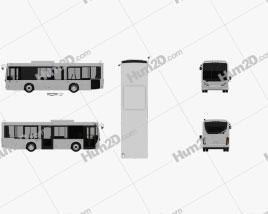 New Flyer MiDi Bus 2016