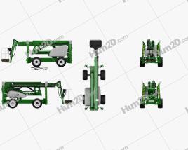 Nifty SD210 4x4x4 Self Drive Work Platform 2018