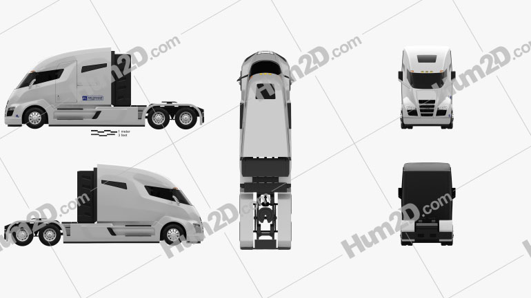 Nikola One Tractor Truck 2016